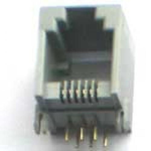 Jack RJ12 6P6C Para Placa (YH55-04)