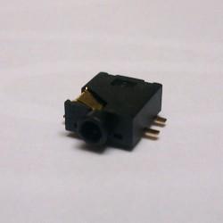 Conector Jack Smd PJ-205 2,5mm 5T Dourado