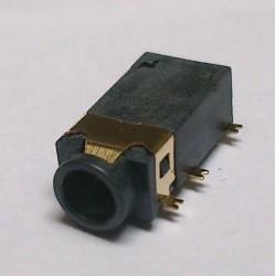 Conector Jack Smd PJ-31060-2 3,5mm 6T Dourado