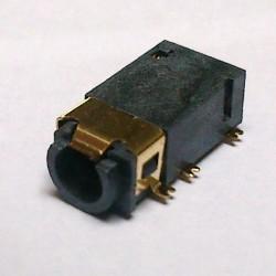 Conector Jack Smd PJ-31060-4 3,5mm 6T Dourado