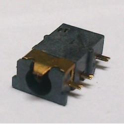 Conector Jack Smd PJ-31060-5 (1,0) 3,5mm 6T Dourado
