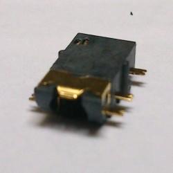 Conector Jack Smd PJ-31060-6 (1,4) 3,5mm 6T Dourado