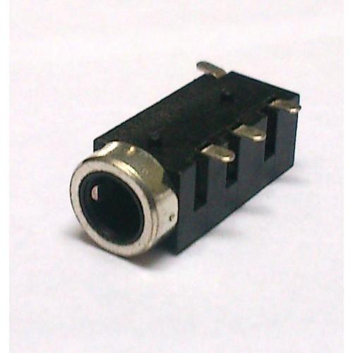 Conector Jack Smd PJ-320E 3,5mm 4T Prata