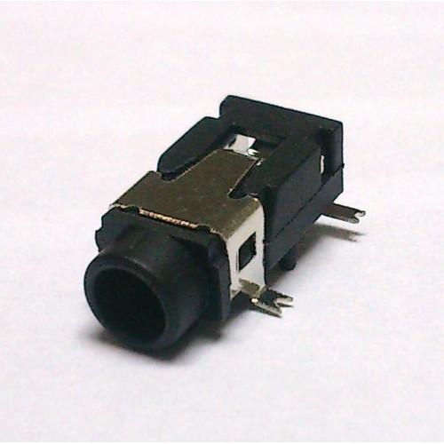Conector Jack Smd PJ-321A 3,5mm 4T Prata