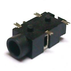 Conector Jack Smd PJ-327C 3,5mm 4T
