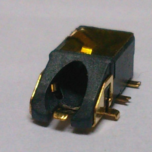 Conector Jack Smd PJ-6B1004 6T Dourado