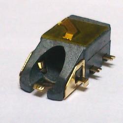 Conector Jack Smd PJ-6B1002-2 (1,0) 6T Dourado