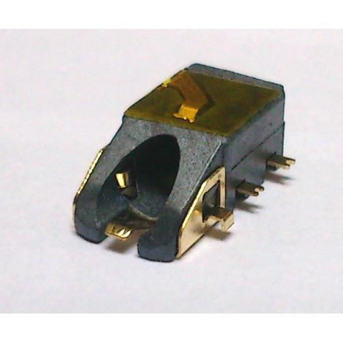 Conector Jack Smd PJ-6B1001 (1,0) Dourado