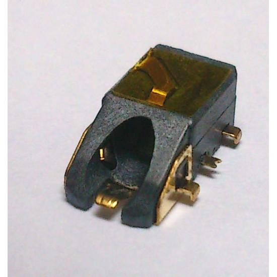 Conector Jack Smd PJ-6B1001 (E08) 6T Dourado