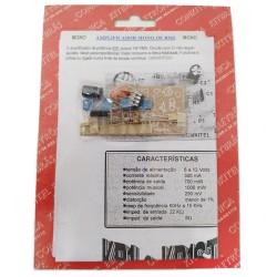 Kit Amplificador Mono 1W KB1