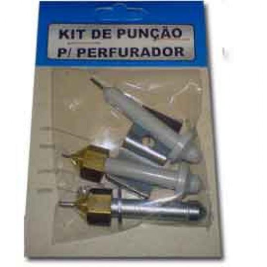 Kit De Reposição Para Perfurador KPC Com 6 Peças