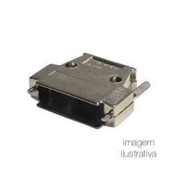 Capa Metálica Para Conector DB37 Com Kit Longo