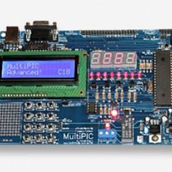MultiPIC Advanced Kit Desenvolvimento PIC18F4520
