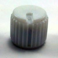 Knob AD-205 Branco Com Parafuso