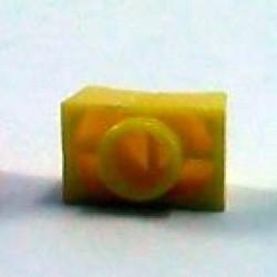 Knob AD-41P Amarelo Deslizante