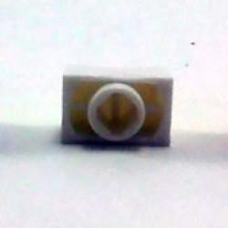 Knob AD-41P Branco Deslizante