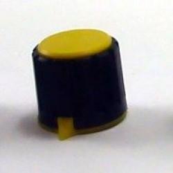 Knob AD-198 Amarelo Com Saia Indicadora Com Parafuso