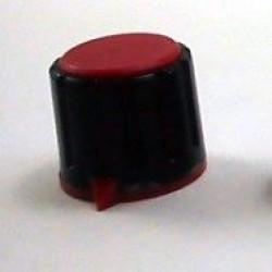 Knob AD-198 Vermelho Com Saia Indicadora Com Parafuso