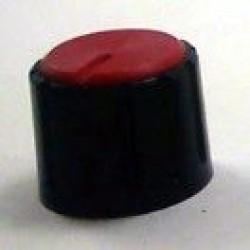 Knob AD-198 Vermelho Sem Saia Indicadora Com Parafuso