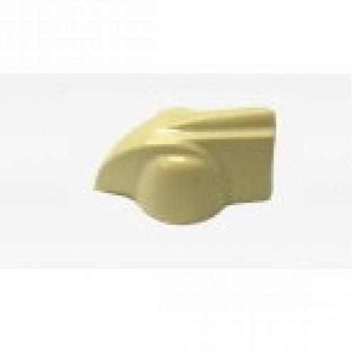 Knob AD-Met 2 Bege (Chicken Head ou Cabeça de Galinha)