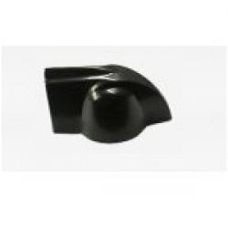 Knob AD-Met 2 Preto (Chicken Head ou Cabeça de Galinha)