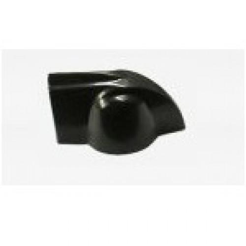 Knob AD-Met 3 Preto (Chicken Head ou Cabeça de Galinha)