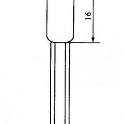 Lampada Neon NE2 6x16mm