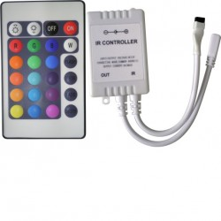 Controlador Infravermelho De Fita De Led BSX7-RGB-24P