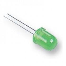 Led Verde Difuso 10mm