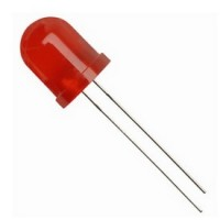 Led Vermelho Difuso 10mm