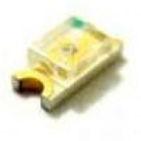 Led SMD 0805 Amarelo (2.0mm X 1.25mm X 0.7mm)