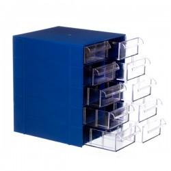 Gaveteiro CG. 510 Azul  Com 10 Gavetas E 50 Divisórias