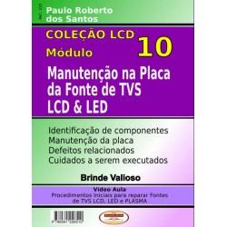 Manutenção Na Placa Da Fonte De TVs LCD E LED Volume 10