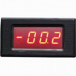 Voltímetro Digital de Painel PM436 Configurável até 500V