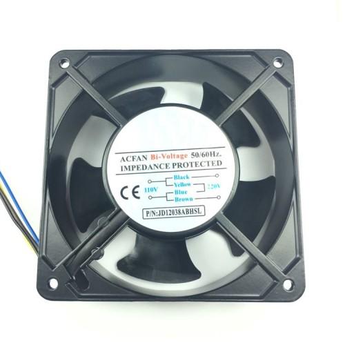 Micro Ventilador 120x120x38HSL 110-220VAC Sem Rolamento