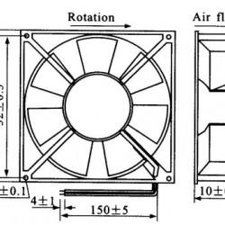 Micro Ventilador 40x40x10HS 12V Sem Rolamento