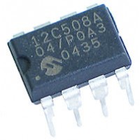 Microcontrolador PIC12C508A-04/P