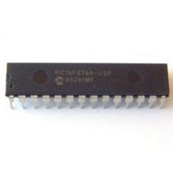 Microcontrolador PIC16F876A-I/SP