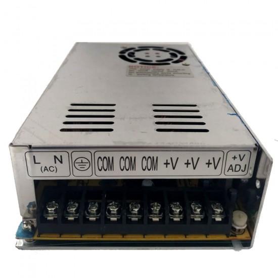 Mini Fonte Chaveada Industrial 300W 12V 25A (MS-300W 12VDC/MS-300-12)