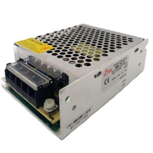 Mini Fonte Chaveada Industrial 75W 12V 6,2A (MS-75W 12VDC/MS-75-12)