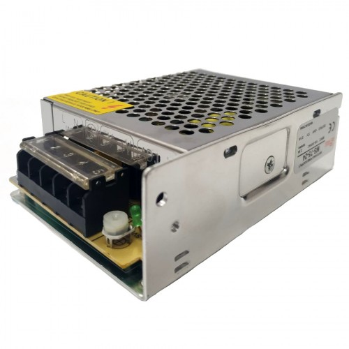 Mini Fonte Chaveada Industrial 75W 24V 3,1A MS-75W 24VDC/MS-75-24)