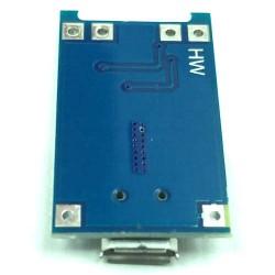 Mini Carregador de Bateria de Lítio TP4056 5V 1A