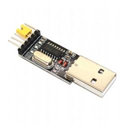 Modulo Conversor USB Para Serial 6 Pinos Controlador CH340