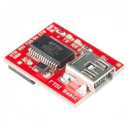 Conversor USB Para Serial Para Arduino Pró Mini Com FTDI 5V