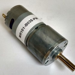 Motor DC Redutor 35RPM 24VDC - MR101-B035-PW
