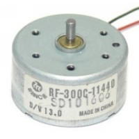 Motor RF-300C 5,9V Para PS2 E DVD Eixo 6mm