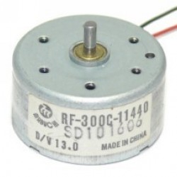 Motor RF-300C 5,9V Para PS2 E DVD Eixo 8mm