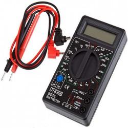 Multimetro Digital DT-830B Preto
