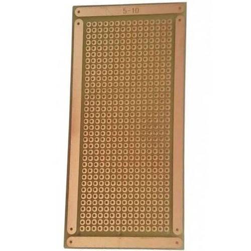 Placa De Circuito Impresso Padrao 5x10 Cm Tipo Ilha