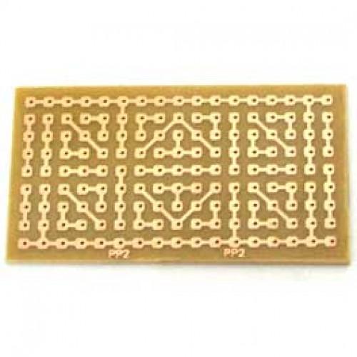 Placa Padrão De Fenolite Modelo PP2